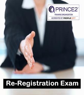 PRINCE2 re-reg exam peoplecert