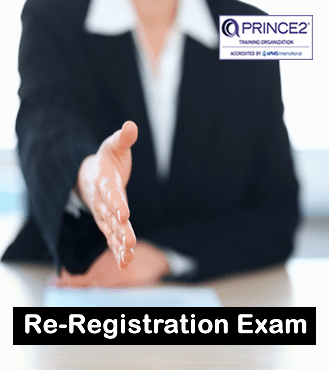 PRINCE2 re-reg exam