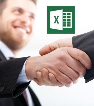 Interview Handshake MS Excel