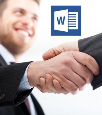 Interview Handshake MS Word