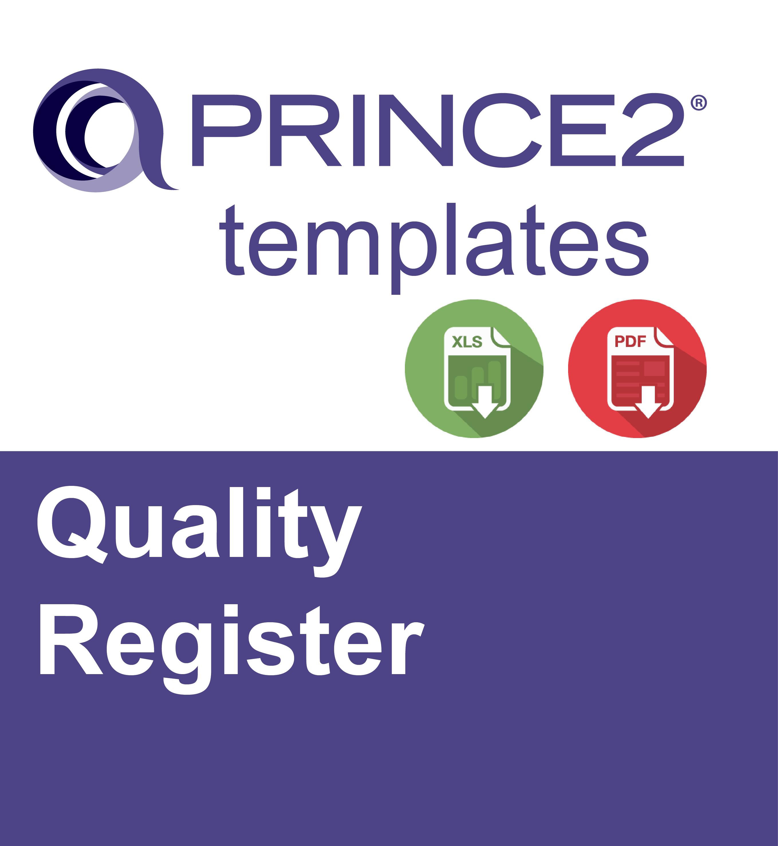 prince2 quality register ebalance